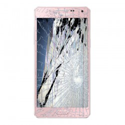 [Réparation] Bloc Avant ORIGINAL Rose - SAMSUNG Galaxy A5 - A500F / A500FU