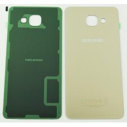 Vitre Arrière ORIGINALE Or - SAMSUNG Galaxy A5 2016 - A510F