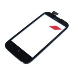 Vitre Tactile Noire + Adhésifs - NOKIA Lumia 510