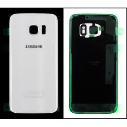 Vitre Arrière ORIGINALE Blanche - SAMSUNG Galaxy S7 - G930F