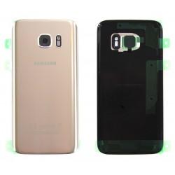 Vitre Arrière ORIGINALE Or - SAMSUNG Galaxy S7 - G930F
