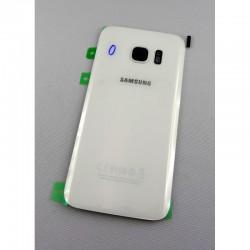 Vitre Arrière ORIGINALE Blanche - SAMSUNG Galaxy S7 Edge - G935F