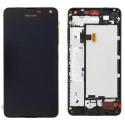 Bloc Avant ORIGINAL Noir - MICROSOFT Lumia 650
