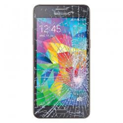 [Réparation] Vitre Tactile ORIGINALE Grise Foncée + Adhésifs - SAMSUNG Galaxy Grand Prime VE – G531F