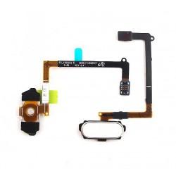 Bouton HOME Bleu / Noir + Lecteur d'empreinte digital ORIGINAL - SAMSUNG Galaxy S6 - G920F