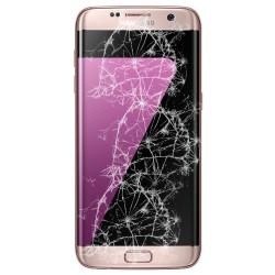 [Réparation] Bloc Avant ORIGINAL Or Rose - SAMSUNG Galaxy S7 Edge - G935F