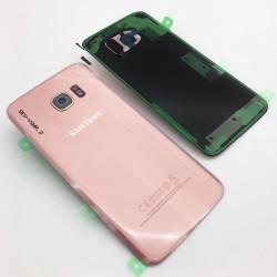 Vitre Arrière ORIGINALE Or Rose - SAMSUNG Galaxy S7 Edge - G935F