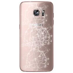 [Réparation] Vitre Arrière ORIGINALE Or Rose - SAMSUNG Galaxy S7 Edge - G935F