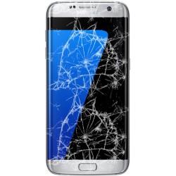 [Réparation] Bloc Avant ORIGINAL Argent - SAMSUNG Galaxy S7 Edge - G935F