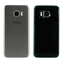 Vitre Arrière ORIGINALE Argent - SAMSUNG Galaxy S7 Edge - G935F