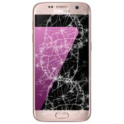[Réparation] Bloc Avant ORIGINAL Or Rose - SAMSUNG Galaxy S7 - G930F
