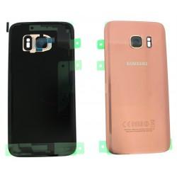 Vitre Arrière ORIGINALE Or Rose - SAMSUNG Galaxy S7 - G930F