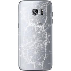 [Réparation] Vitre Arrière ORIGINALE Argent - SAMSUNG Galaxy S7 - G930F