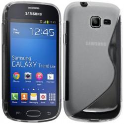 Coque Silicone S-Line Transparente - SAMSUNG Galaxy TREND Séries