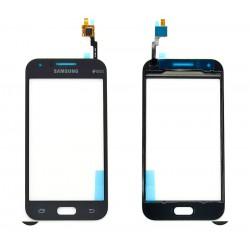 Vitre Tactile ORIGINALE Noire + Adhésifs - SAMSUNG Galaxy J1 Duos