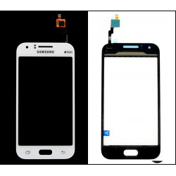 Vitre Tactile ORIGINALE Blanche + Adhésifs - SAMSUNG Galaxy J1 Duos