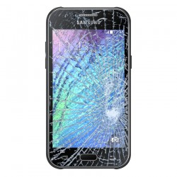 [Réparation] Vitre Tactile ORIGINALE Noire - SAMSUNG Galaxy J1