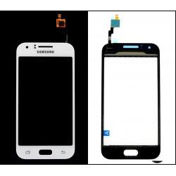 Vitre Tactile ORIGINALE Blanche + Adhésifs - SAMSUNG Galaxy J1