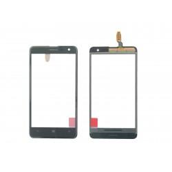 Vitre Tactile Noire + Adhésifs ORIGINALE - NOKIA Lumia 625