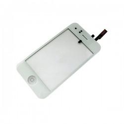 Vitre Tactile ORIGINALE Blanche + Bouton HOME + Adhésifs - iPhone 3GS