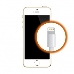[Réparation] Connecteur de Charge ORIGINAL Blanc - iPhone SE